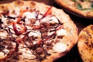Wood Fire Pizzas at Forager Brewery